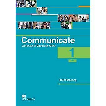 Comunicar-se Coursebook nível do aluno 1 por Kate Pickering - 97802304
