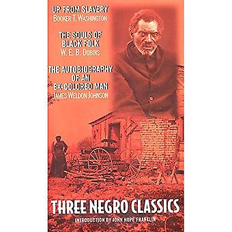 Three Negro Classics:  Up from Slavery  by Booker T.Washington,  The Souls of Black Folk  by W.E.B.Du Bois,  An Autobiography of an Ex-colored Man  by James Weldon Johnson