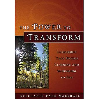 O poder de transformação: liderança que traz aprendizagem e educação para a vida