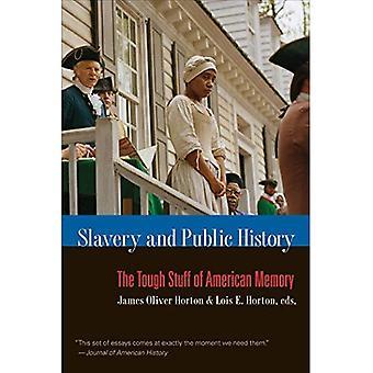 Slaveri og offentlige historie: vanskelige amerikanske minne