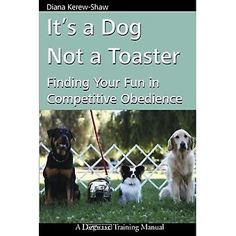 It's a Dog Not a Toaster: Finding Your Fun in Competitive Obedience