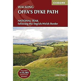 Allées, digue d'Offa: suite à la frontière de l'anglais-gallois