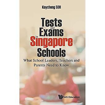 Tests et examens dans les écoles de Singapour