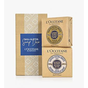 L Occitane Shea Butter Soap Duo
