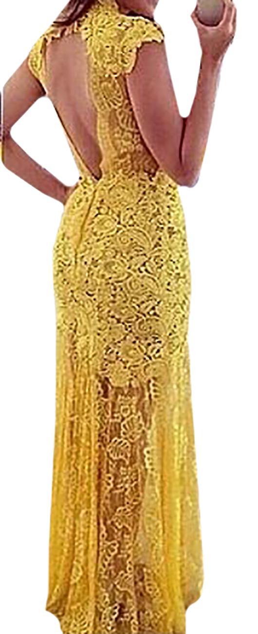 Waooh - Long Lace Dress Tael