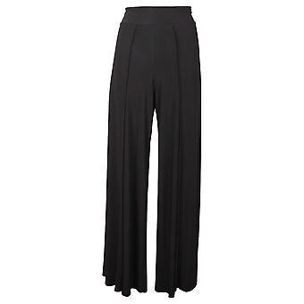 Frank Lyman High Waist Wide Leg Black Trousers