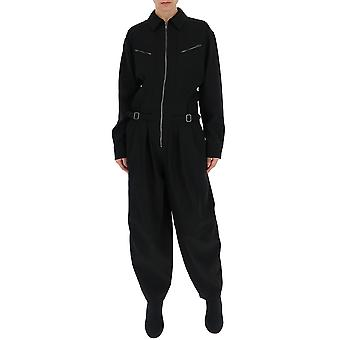 Givenchy Black Silk Jumpsuit