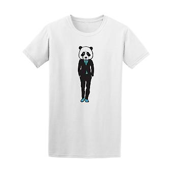 Panda With A Suit  Tee Men's -Image by Shutterstock