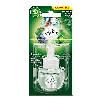 Air Wick Life Scents Air Freshener Electrical Plug In, Lush Hideaway, Refill
