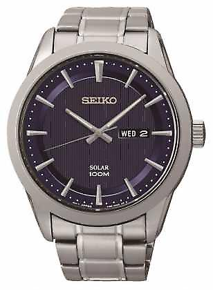 Seiko Mens Solar Powered SNE361P1 Watch