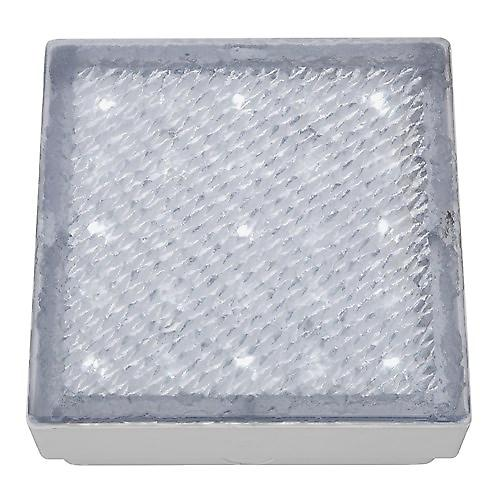 Searchlight 9914WH Led Recessed Clear 8cm Square Walkover White Led IP68