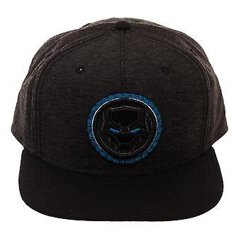 Marvel Black Panther blå logo SnapBack Cap