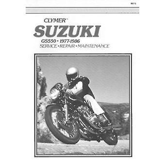 Suzuki GS550 - 1977-1986 - Clymer Workshop Manual (6th ed  Updated by