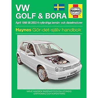 VW Golf and Bora Service and Repair Manual - 9781785212802 Book
