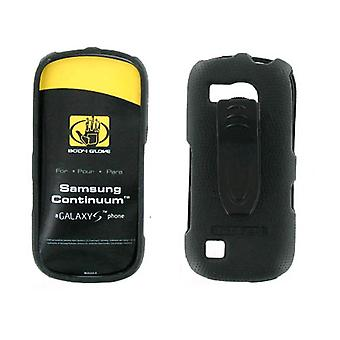 Body Glove - Snap sur l'affaire pour Samsung Continuum SCH-i400 (Galaxy S) - noir