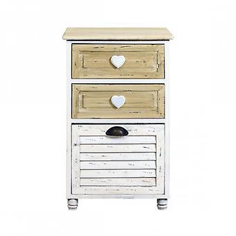 Furniture Rebecca Mobile Drawer Bathroom Shabby 1 Anta 2 Case Cabinets Room 65x40x29