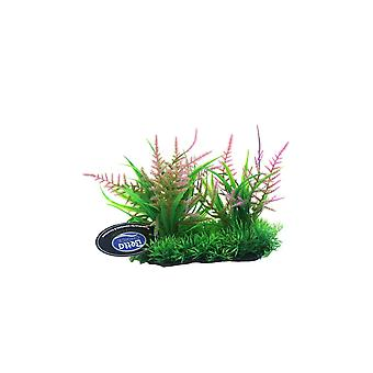 Betta Choice Pink Foreground Plastic Plant 15cm
