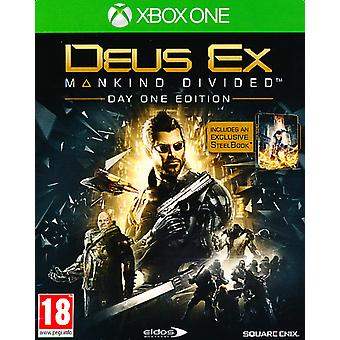 Deus Ex Mankind Divided Day One EditionSteel Book - Xbox One