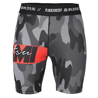 Tatami Fightwear Red Bar Camo Vale Tudo szorty