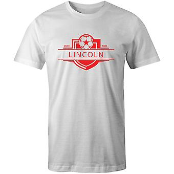 Lincoln City 1884 gevestigde badge voetbal T-shirt