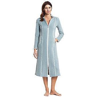 Robe de chambre de chambre en coton bleu de mer profonde de Feraud 3191065