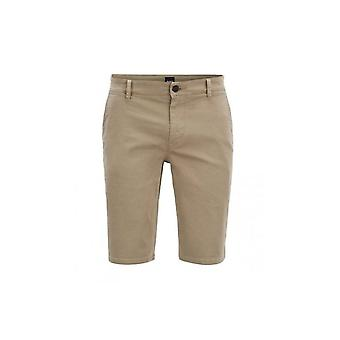 Hugo Boss Casual Beige Schino Slim Short