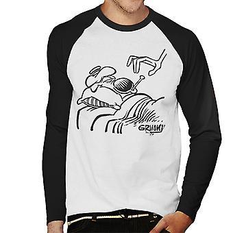 Grimmy Sick i seng mænds baseball langærmet T-shirt