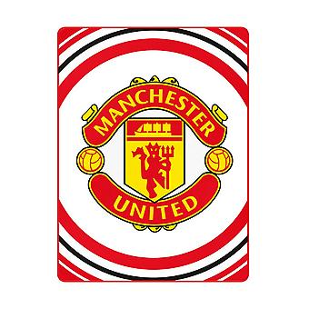 Manchester United FC Pulse Fleece Blanket