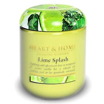 Lime Splash Candle in Jar Extra Large 80 Hours
