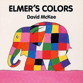 Elmer's Colors Board Book by David McKee - David McKee - 978068813762