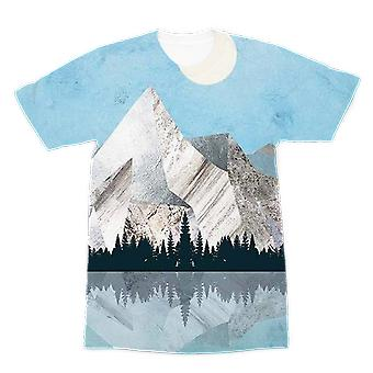 Mountain sonnet moonlit stanza pt 2 prime sublimation adulte t-shirt