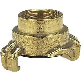 Brass Lock claw coupling - threaded piece Jaw coupler, 18.7 mm (1/2) IT