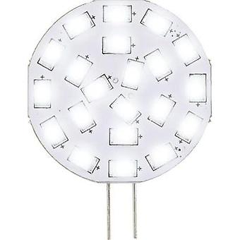 LED G4 pluma 3 W = 30 W Warm white (Ø x L) 35 x 47 mm EEC: PC A Sygonix 1