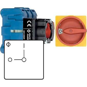 Isolator switch 32 A 1 x 90 ° Red, Yellow Kraus & Naimer KG32B T203/01 FT2 1 pc(s)
