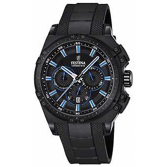 Festina Chronobike 2016 Chronograph Black Rubber F16971/2 Watch