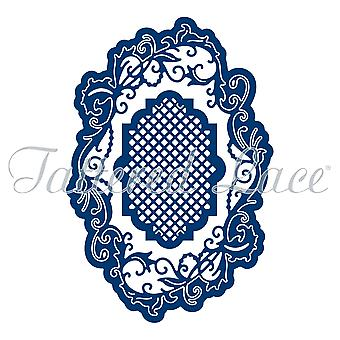 Essentials by Tattered Lace Victorian Swirl Label  Die