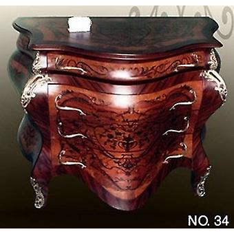 baroque chest of drawers cupboard louis pre victorian antique style MoKm0034