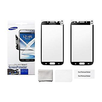Samsung ETC G1J9B Screen Protector for Samsung Galaxy Note 2 - Black