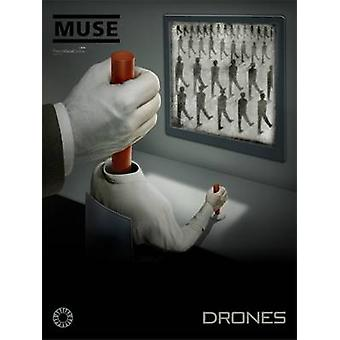 Drones Piano Voice and Guitar Songbook by Muse