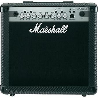 Electric guitar amplifier Marshall MG15CFX Black