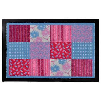 Floor mat flowers quilt