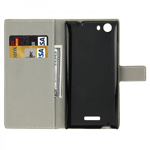 Pocket wallet premium pattern WIKO Ridge Fab 4 G 7