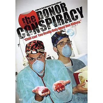 Donor sammensværgelse [DVD] USA importen