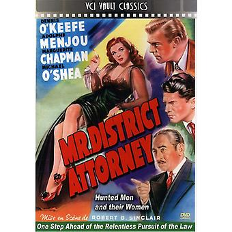 Mr. District Attorney (1947) [DVD] USA import
