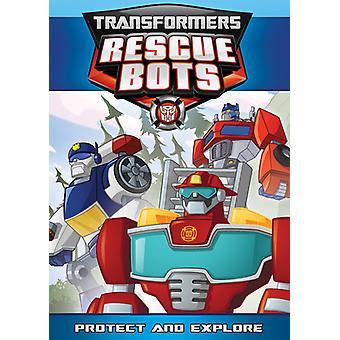 Proteggere i trasformatori Rescue Bots: & Importare Esplora [DVD] Stati Uniti d'America