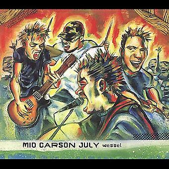 Midten af Carson juli - Wessel [CD] USA importerer