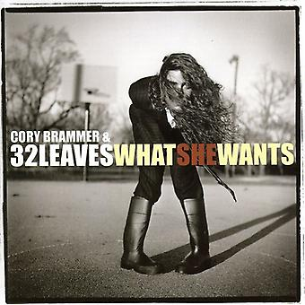 Brammer, Cory & 32 Leaves - What She Wants [CD] USA import