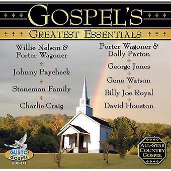Evangeliets største Essentials - evangeliets største Essentials [CD] USA importerer