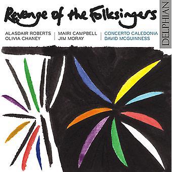 Concerto Kaledonien - hævn af Folksingers [CD] USA importen