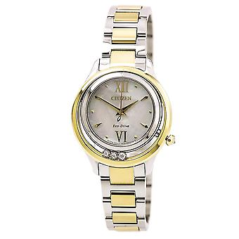 Citizen Eco-Drive L Alba LS Ladies Watch EM0514-52D